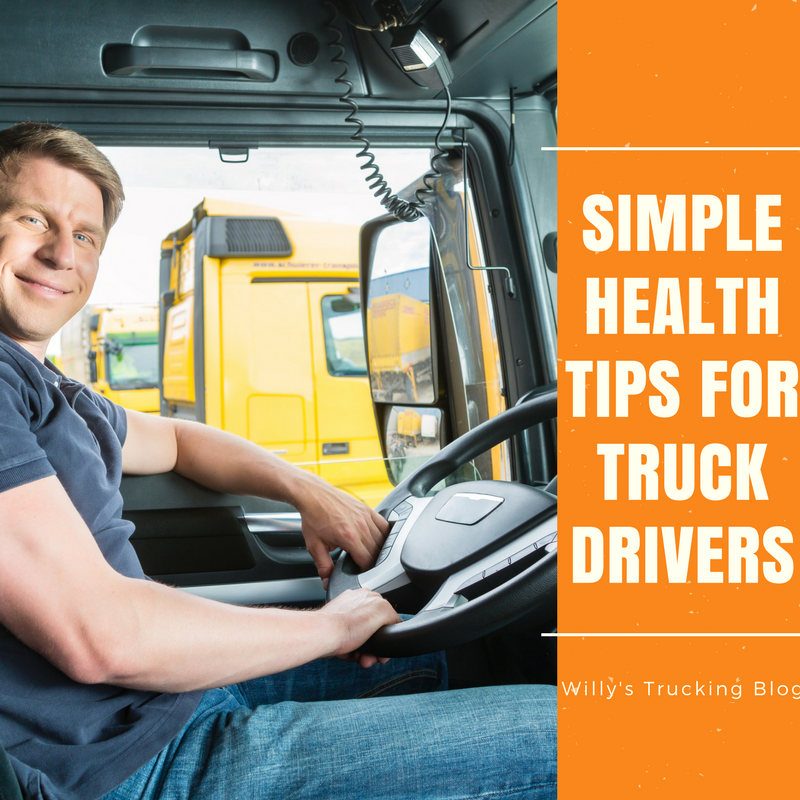 food choices for truck drivers
